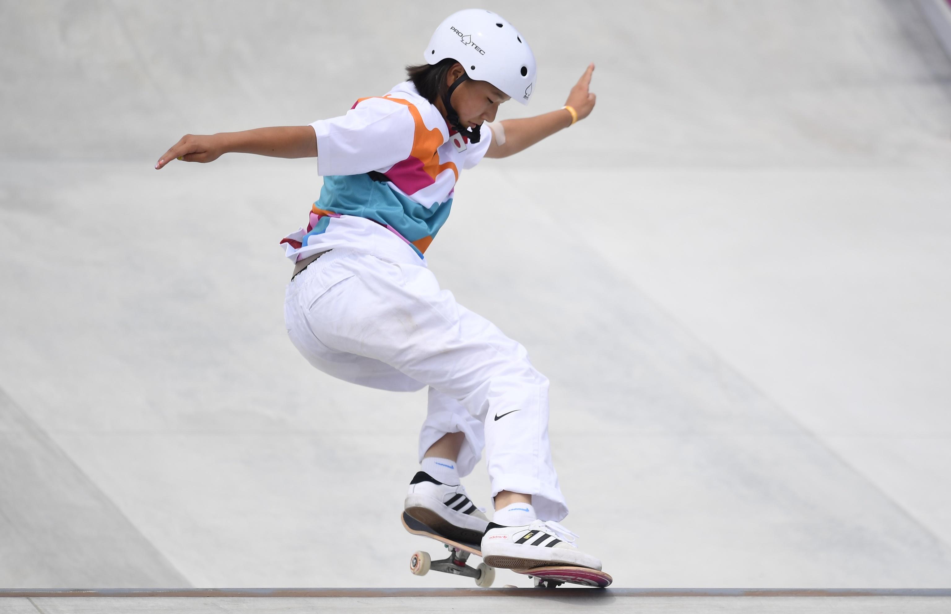 Juegos Olímpicos Tokio 2021: Momiji Nishiya, la niña de oro del  'skateboarding' | Juegos Olímpicos de Tokio