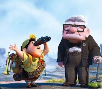 Fotograma de la película animada 'UP'.