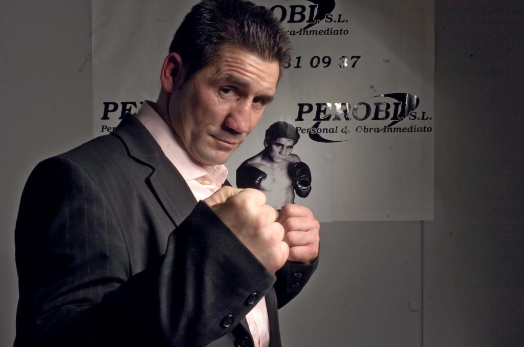 El ex boxeador Poli Díaz.