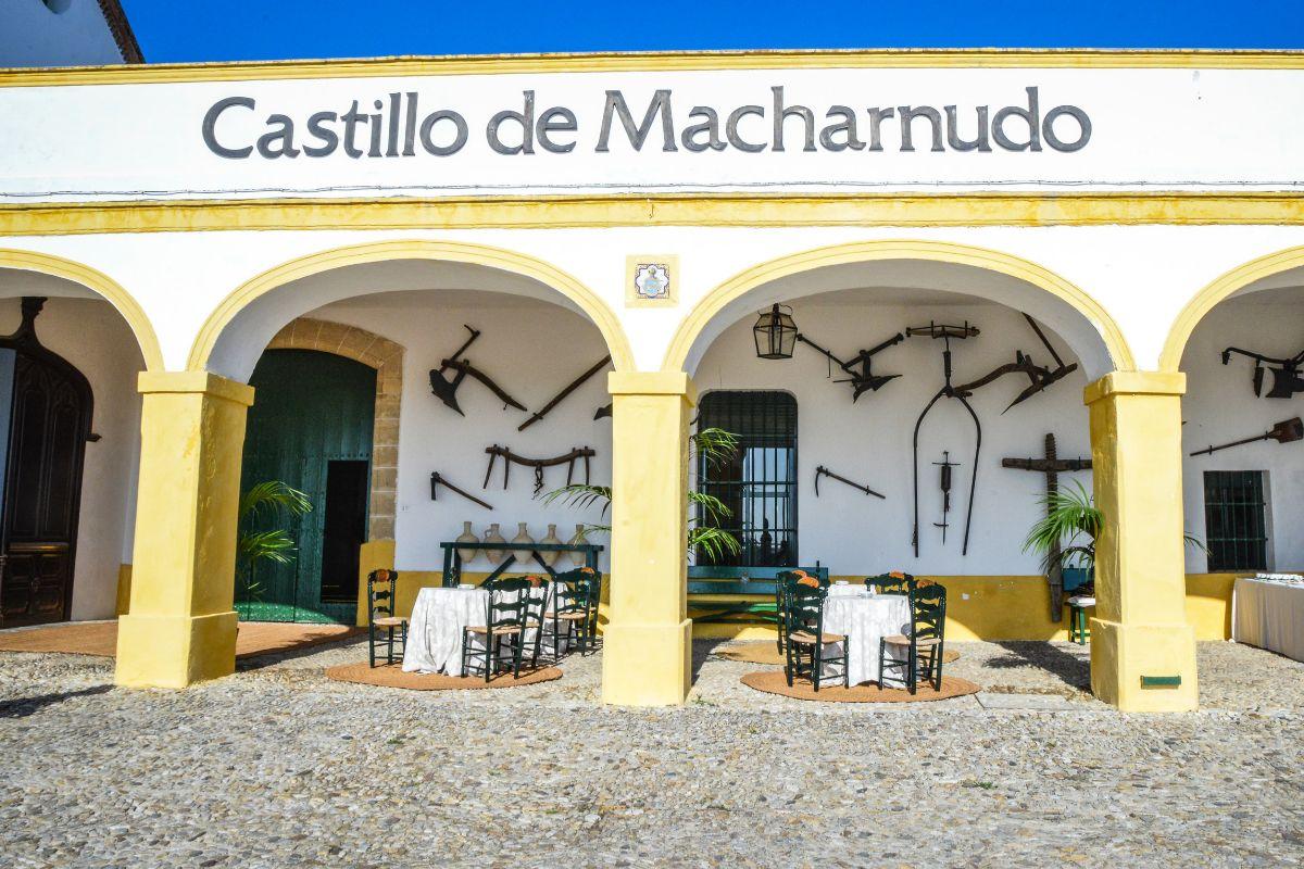 Castillo de Macharnudo,en el pago de El Majuelo, de Bodegas Fundador.