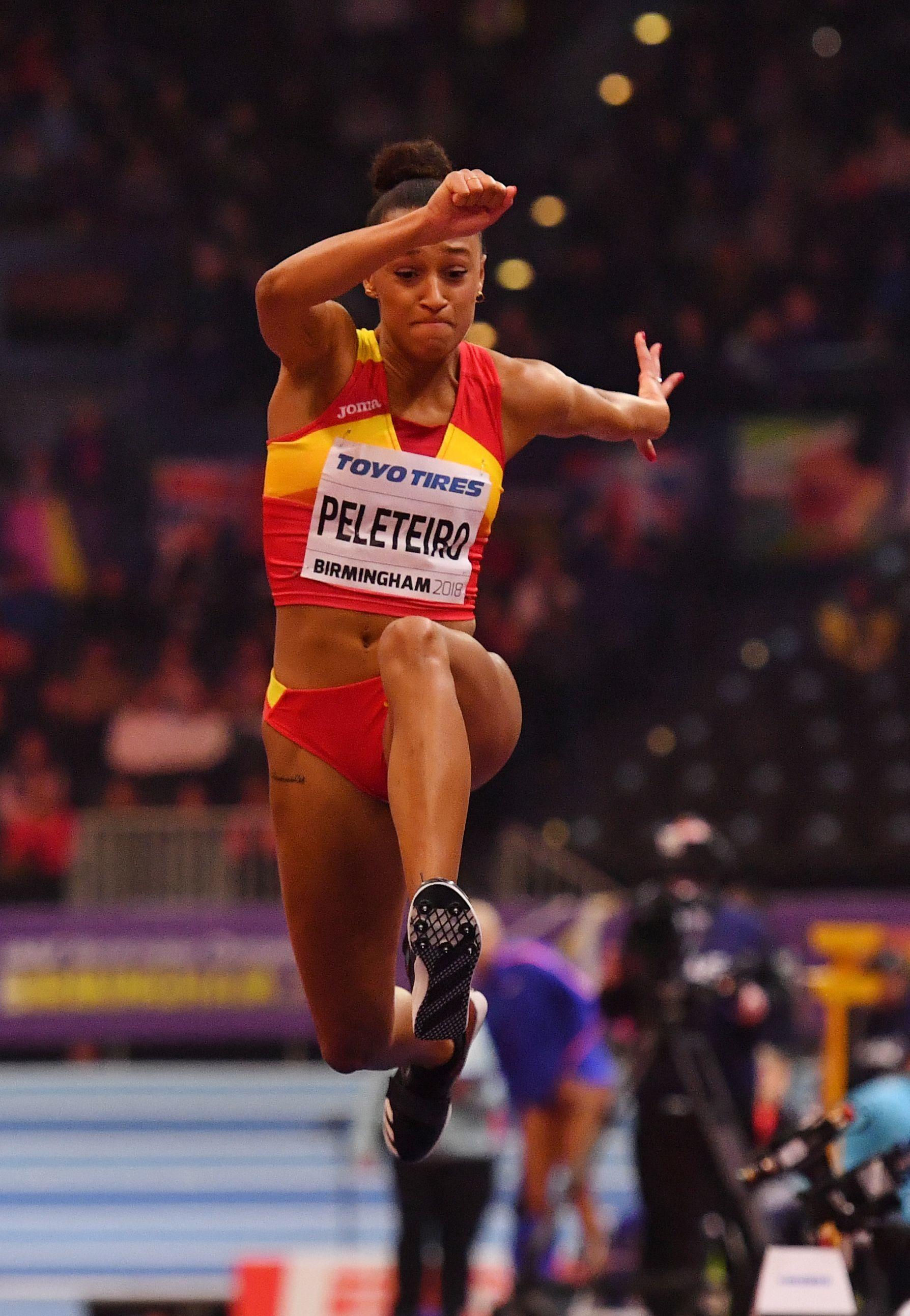 Ana Peleteiro, atleta olímpica de triple salto.