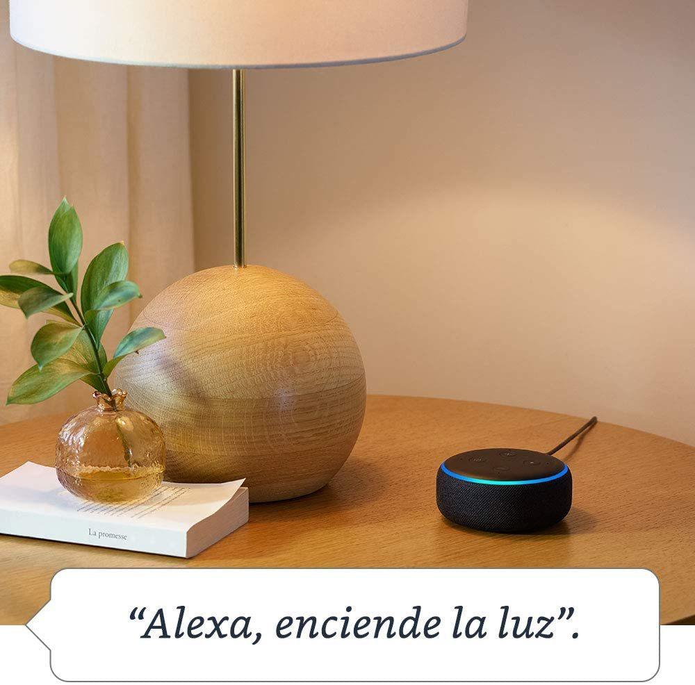Entre los descuentos de hoy se encuentra el altavoz inteligente con Alexa al 20%.