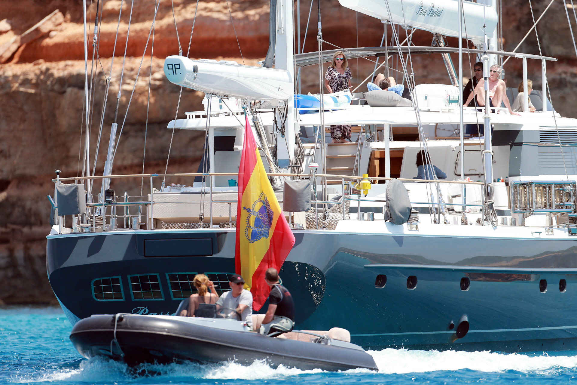 Isak Andic es el propietario del velero más grande de España, el Nirvana Formentera