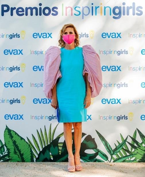 La diseñadora Agatha Ruiz de la Prada en el photocall de los premios Inspiring Girls.