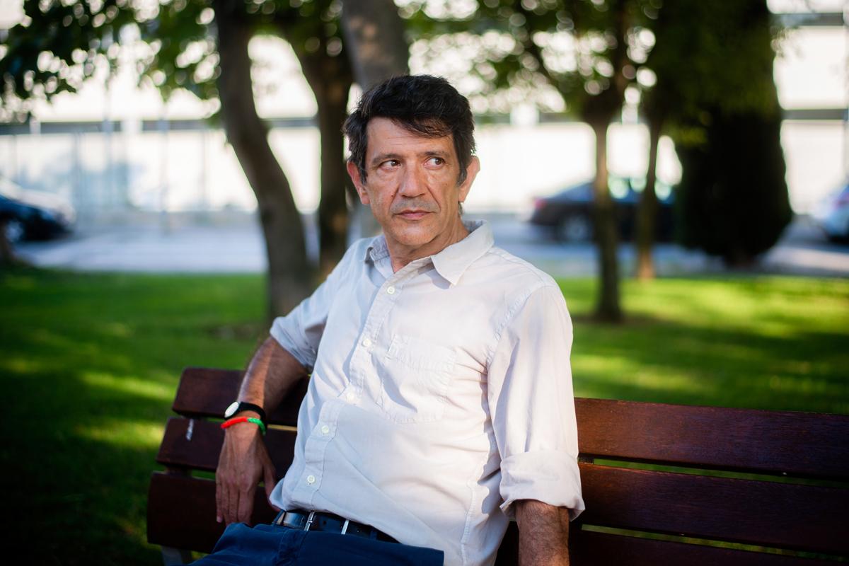 Ricardo García Manrique, este miércoles.