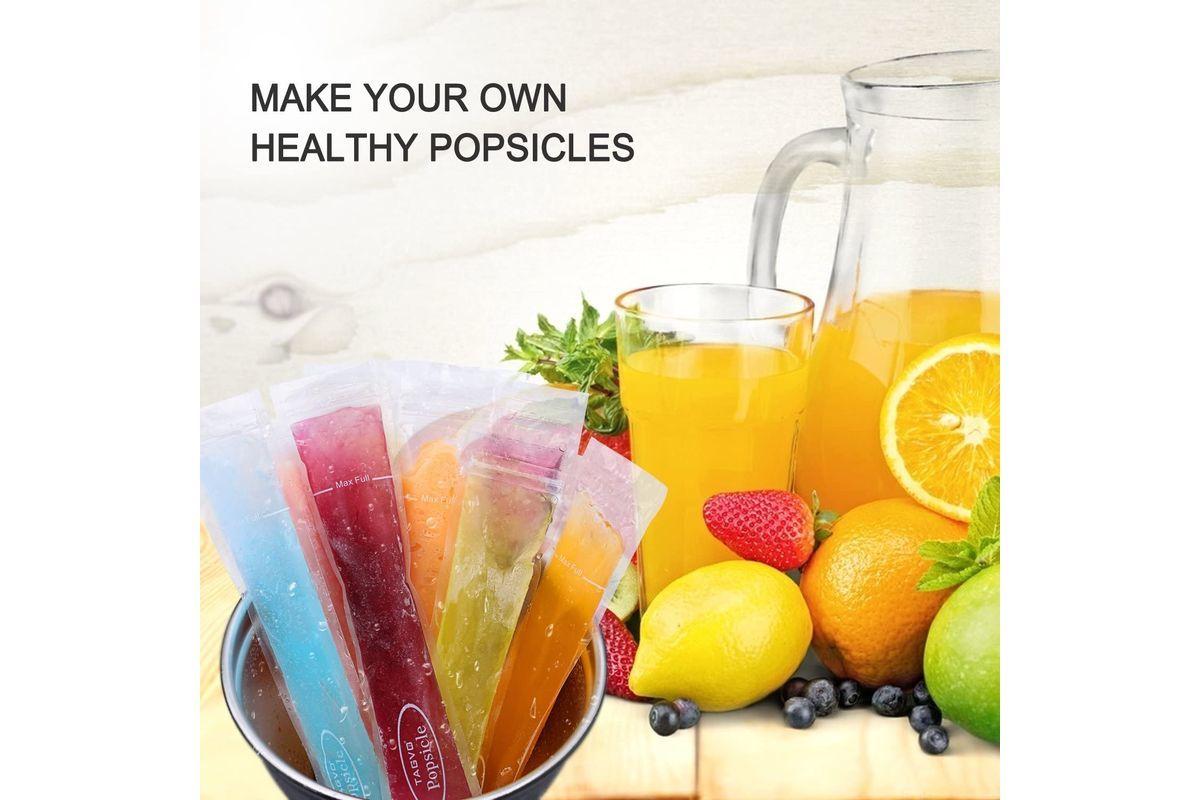 Con zumos naturales puedes hacer exquisitos y saludables flashes en tu propia casa.