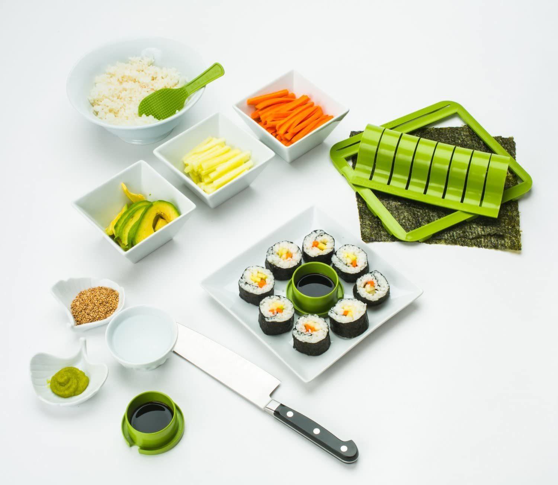 Sigue nuestras ofertas del día. Hoy hay muchos productos para el hogar, como una freidora de aire sin aceite o un kit de sushi.