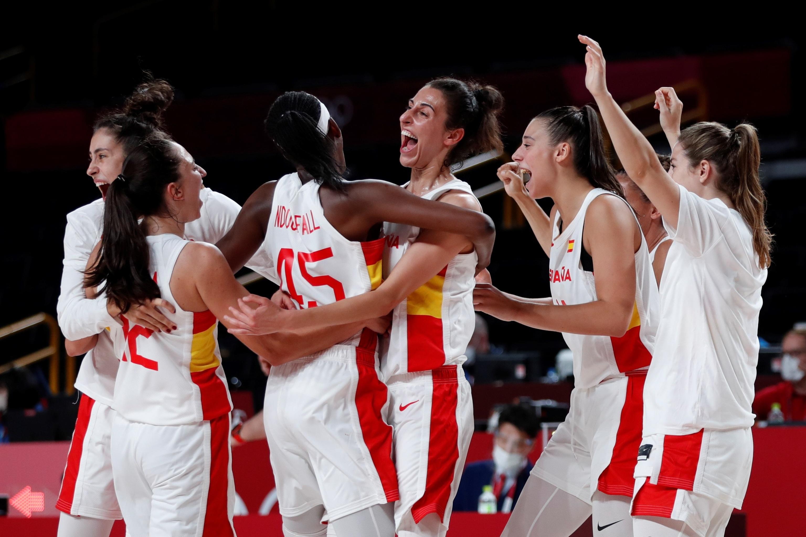 España Serbia - baloncesto femenino - Juegos Olímpicos 2021 - Tokio 2020