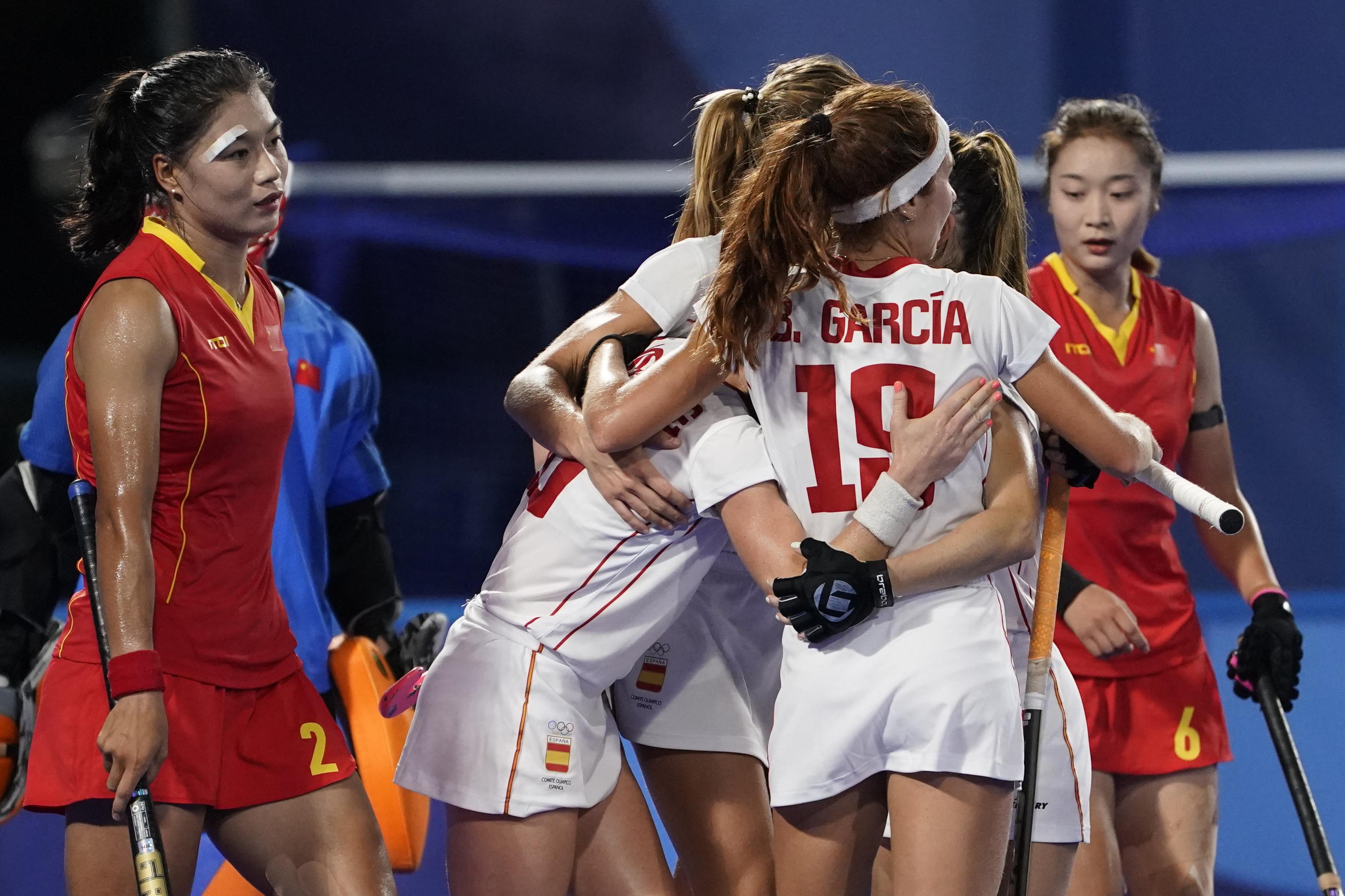 España China - hockey femenino - Juegos Olímpicos 2021 - Tokio 2020