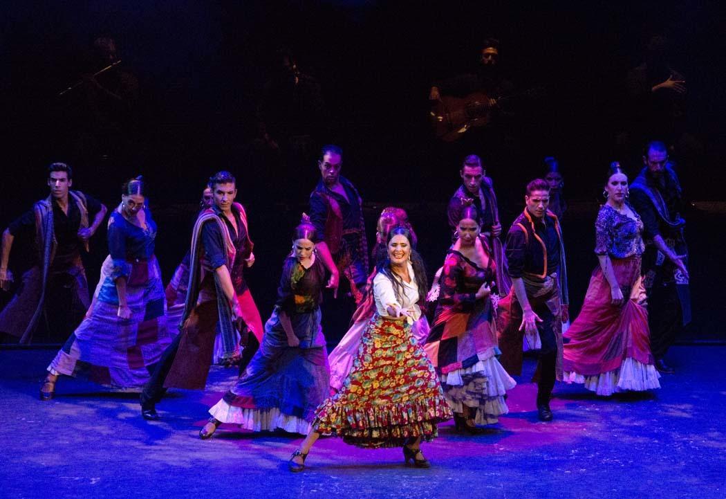 El espectáculo 'Carmen'.