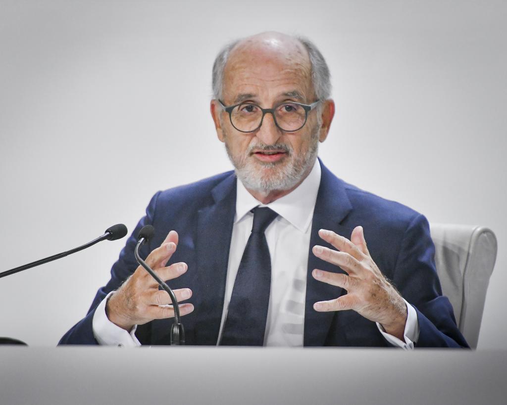 Antonio Brufau, en la Junta de Accionistas de Repsol de 2019.