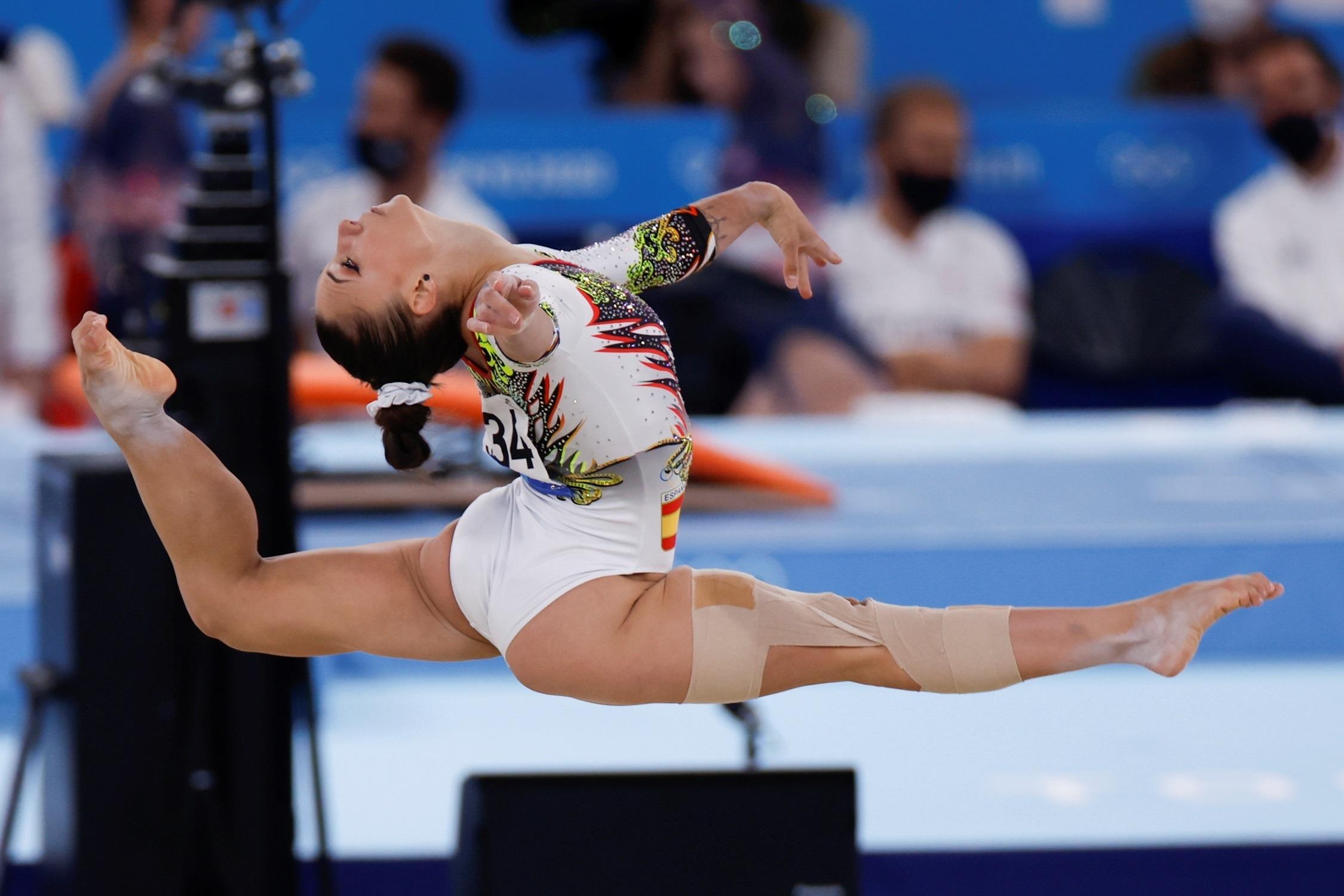 Roxana Popa España - Gimnasia artística - Juegos Olímpicos 2021 - Tokio 2020