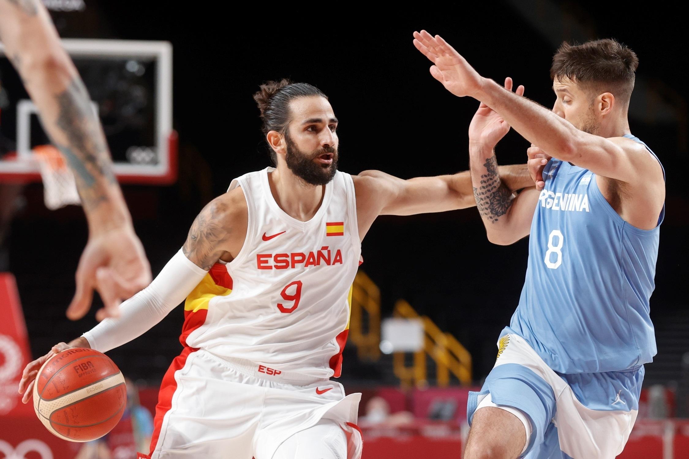España Argentina - baloncesto - Juegos Olímpicos 2021 - Tokio 2020