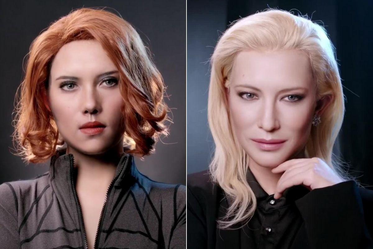 Gillianisme, la maquilladora que triunfa en TikTokcon sus transformaciones de famosos