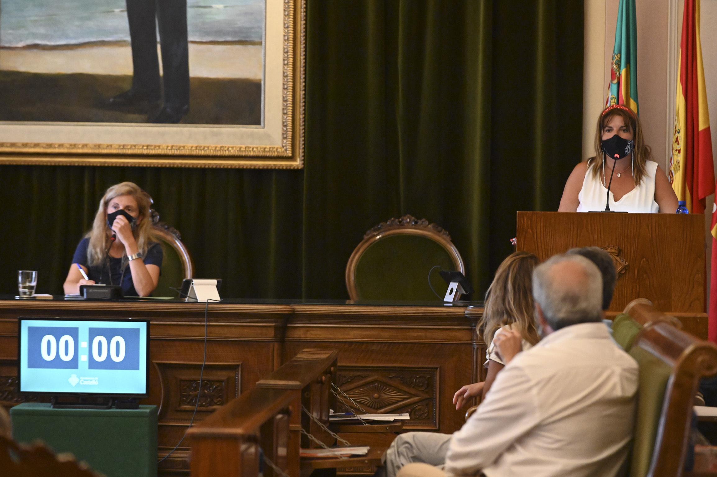 Sesión plenaria de este jueves, donde se ha debatido y aprobado  el presupuesto de 2021.