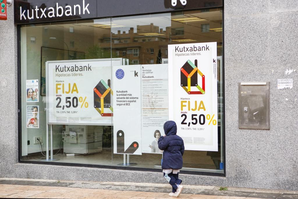 Una sucursal de Kutxabank
