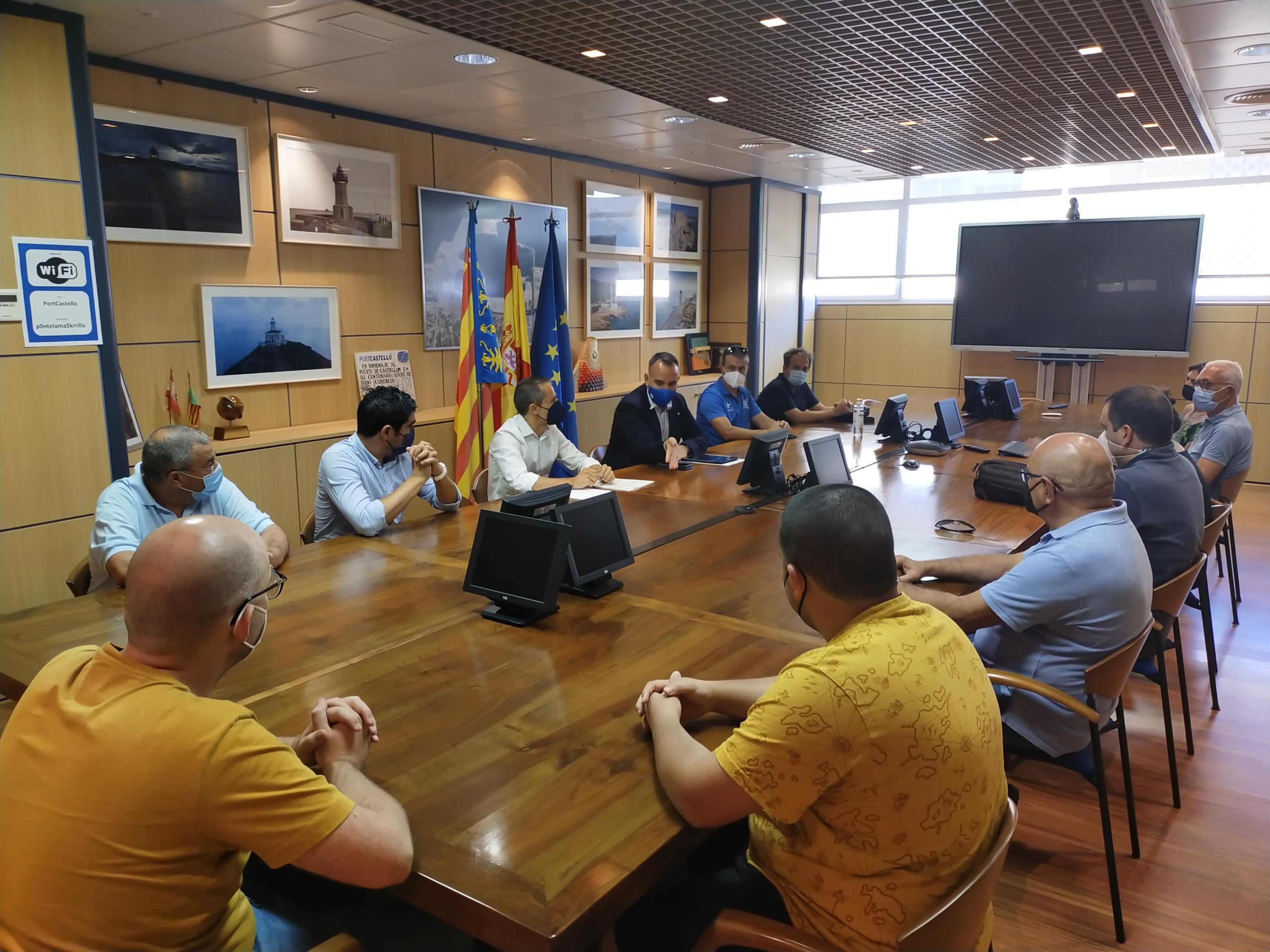 El presidente de PortCastelló, Rafa Simó, apuesta por el patrocinio a organizaciones.