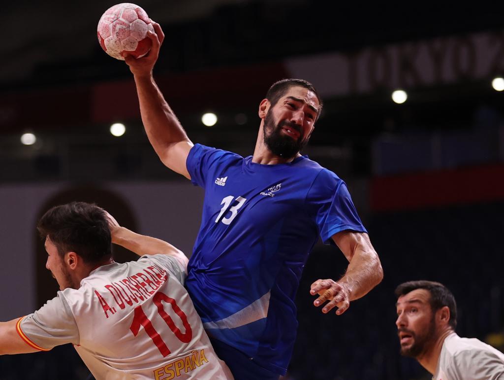 Alex Dujshebaev no logra parar a Nikola Karabatic
