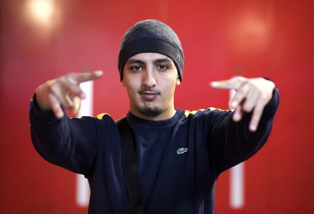 El rapero Morad