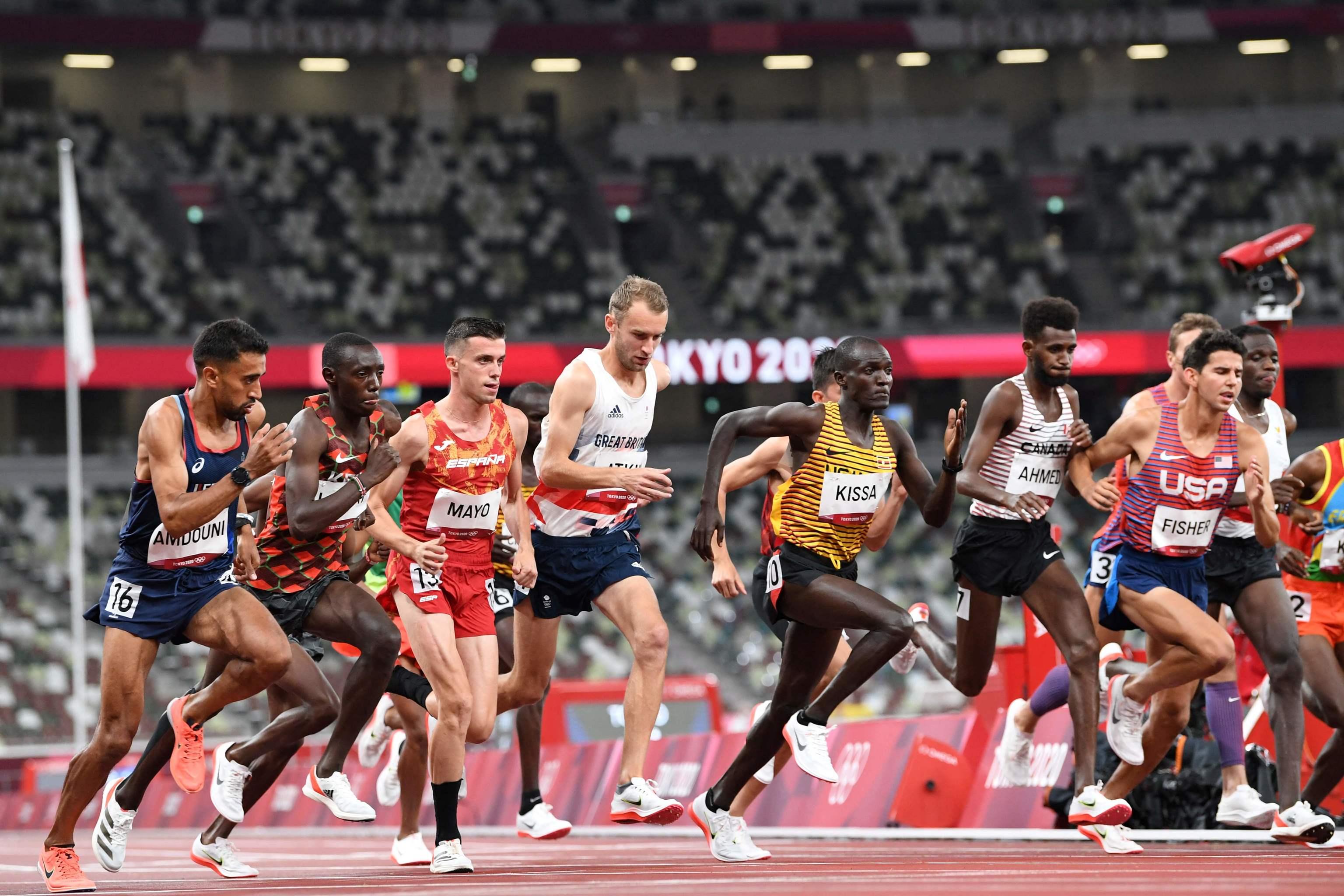 Carlos Mayo - atletismo - 10.000 metros -Juegos Olímpicos 2021 - Tokio 2020