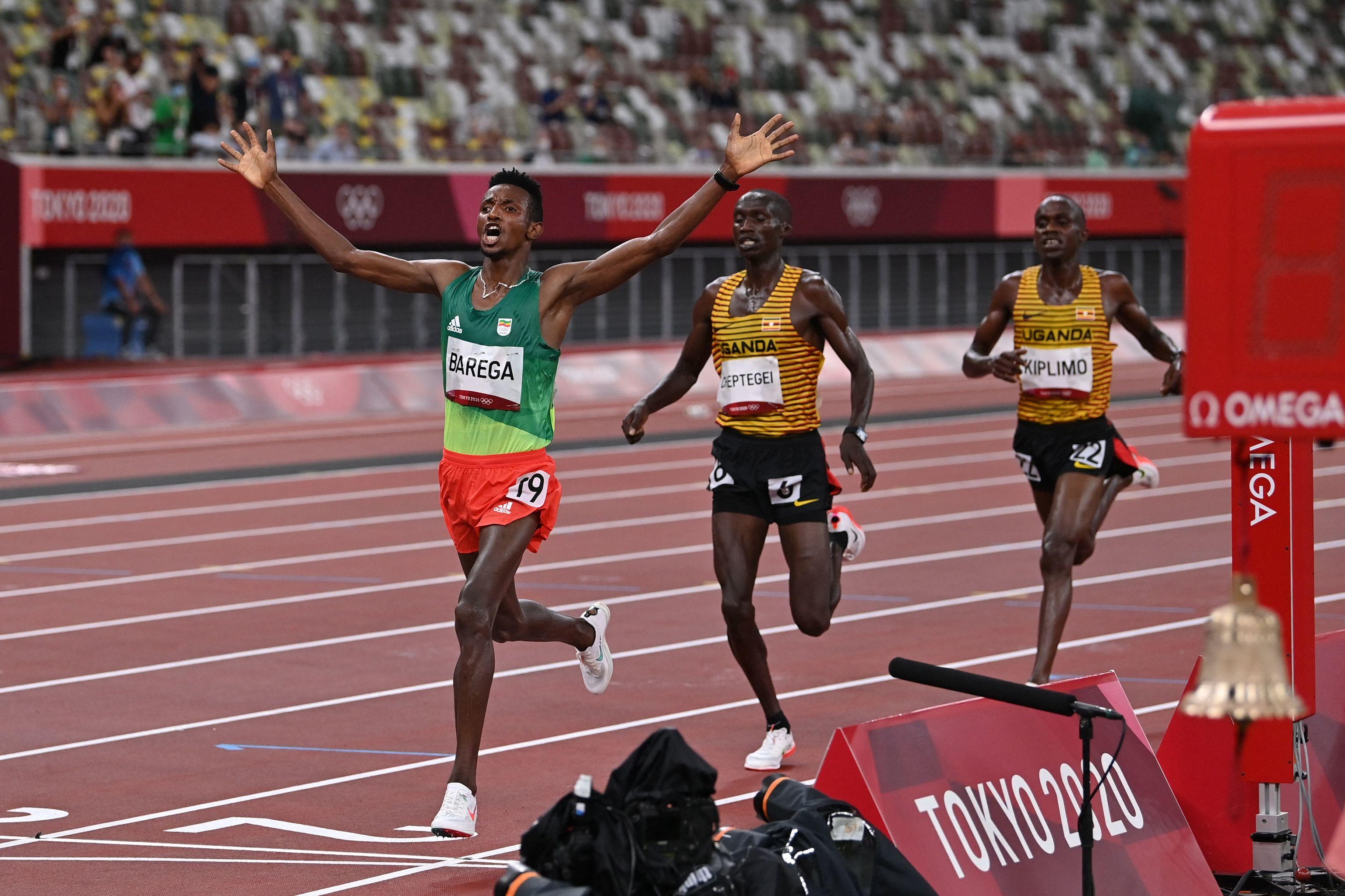 Barega Etiopía - atletismo - Juegos Olímpicos 2021 - Tokio 2020
