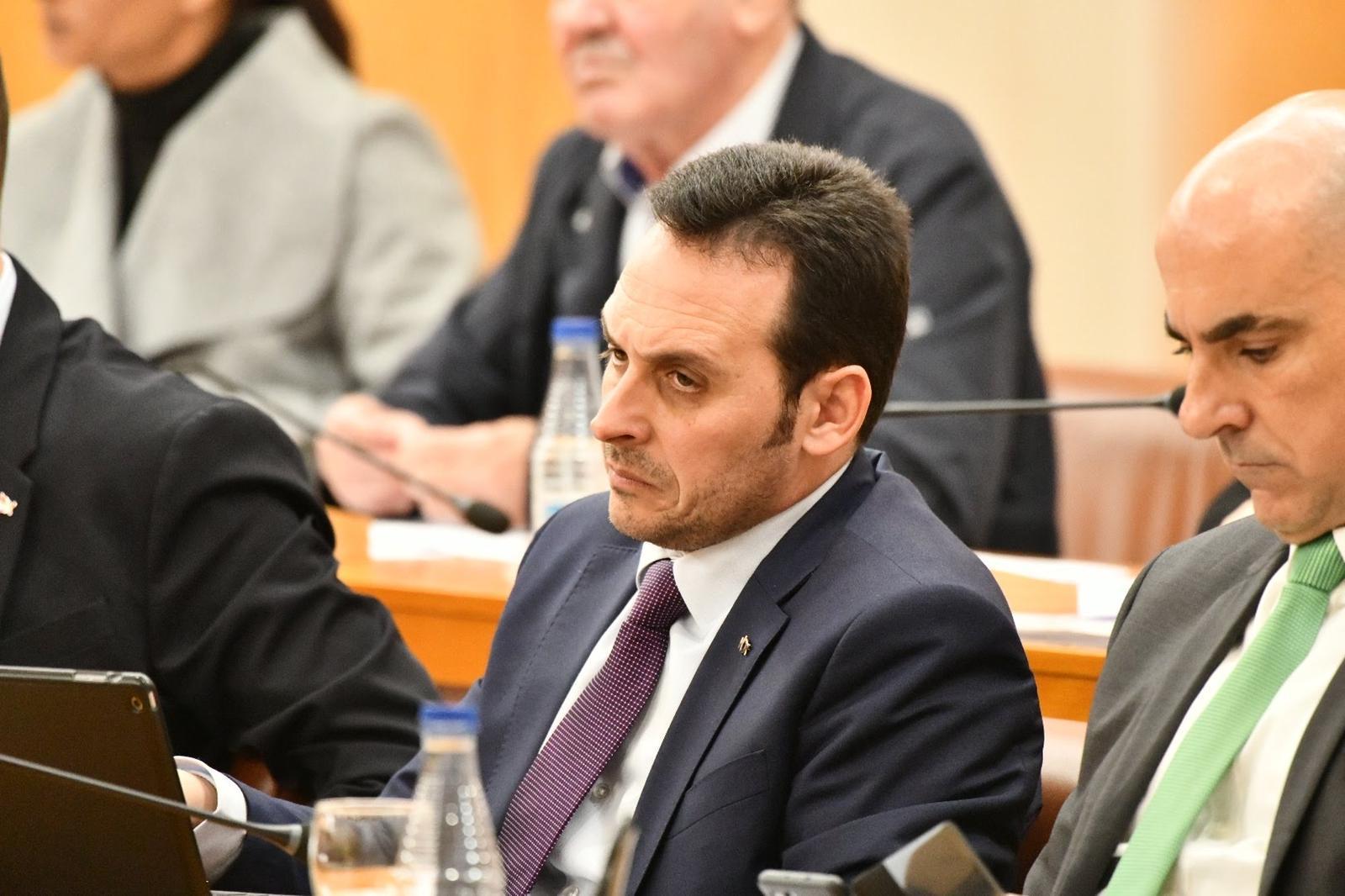 Juan Sergio Redondo, presidente de Vox Ceuta.