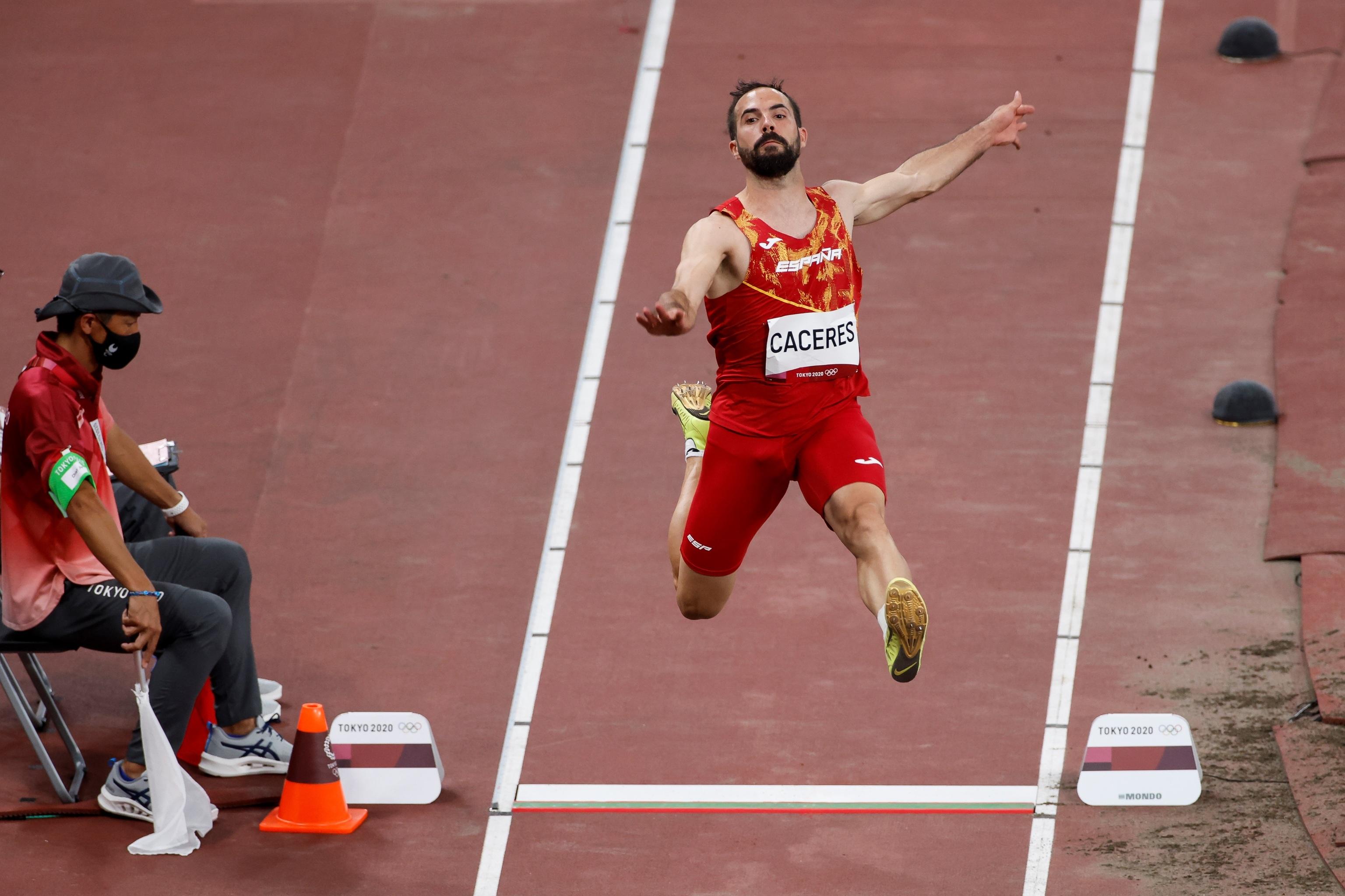 Eusebio Cáceres - atletismo - Juegos Olímpicos 2021 - Tokio 2020