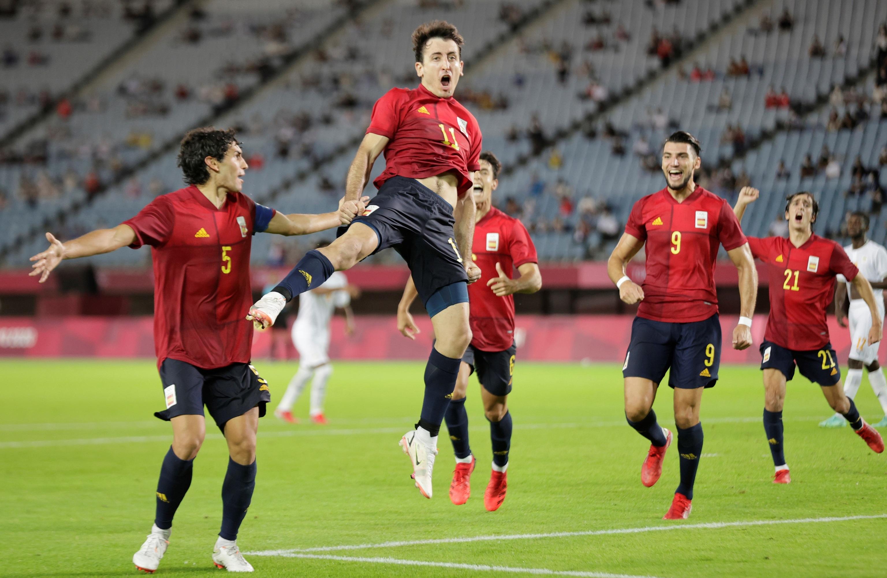 Oyarzabal España - fútbol - Juegos Olímpicos 2021 - Tokio 2020