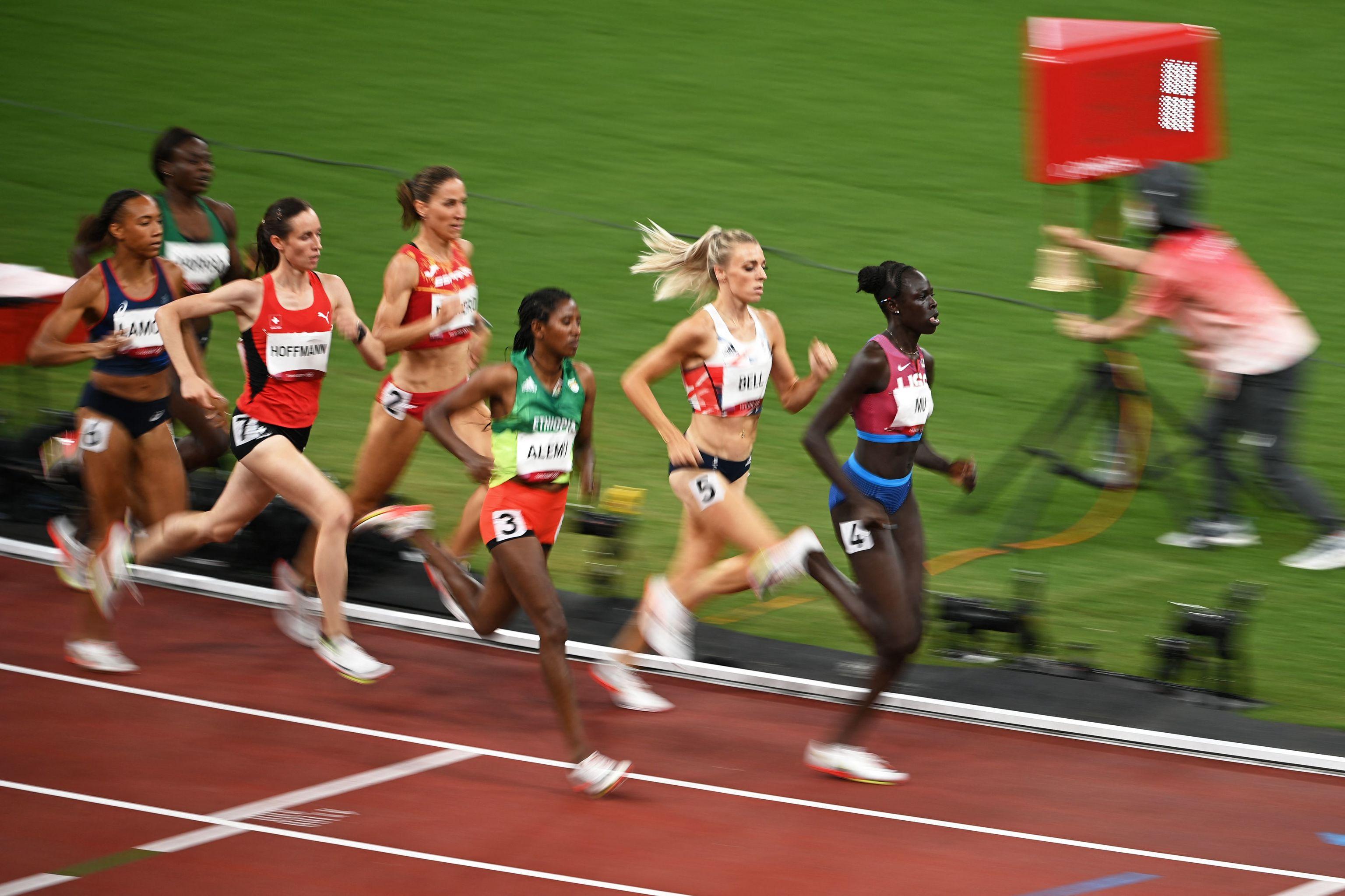 Natalia Romero - atletismo - Juegos Olímpicos 2021 - Tokio 2020