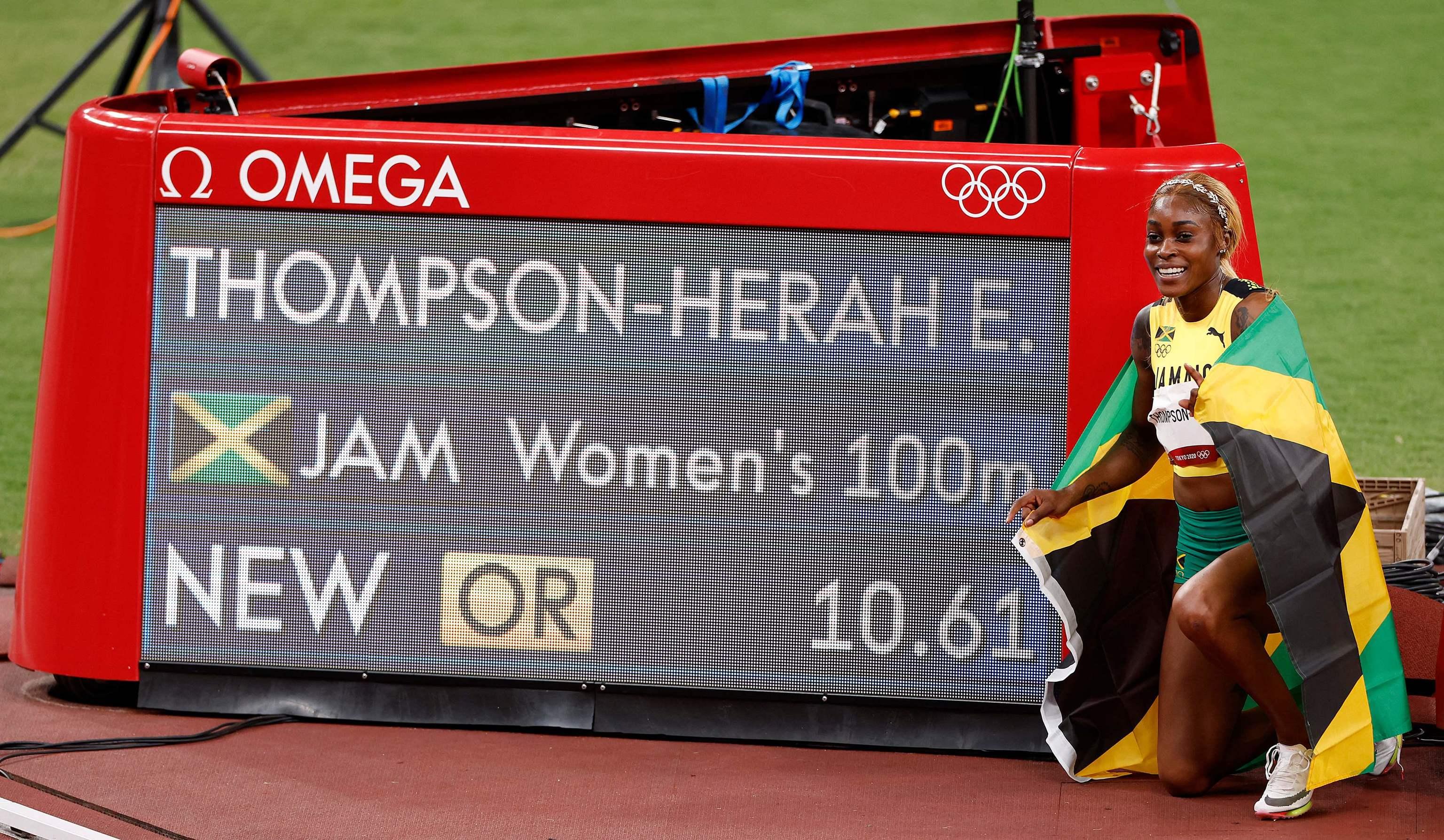 Elaine Thompson-Herah - atletismo - Juegos Olímpicos 2021 - Tokio 2020