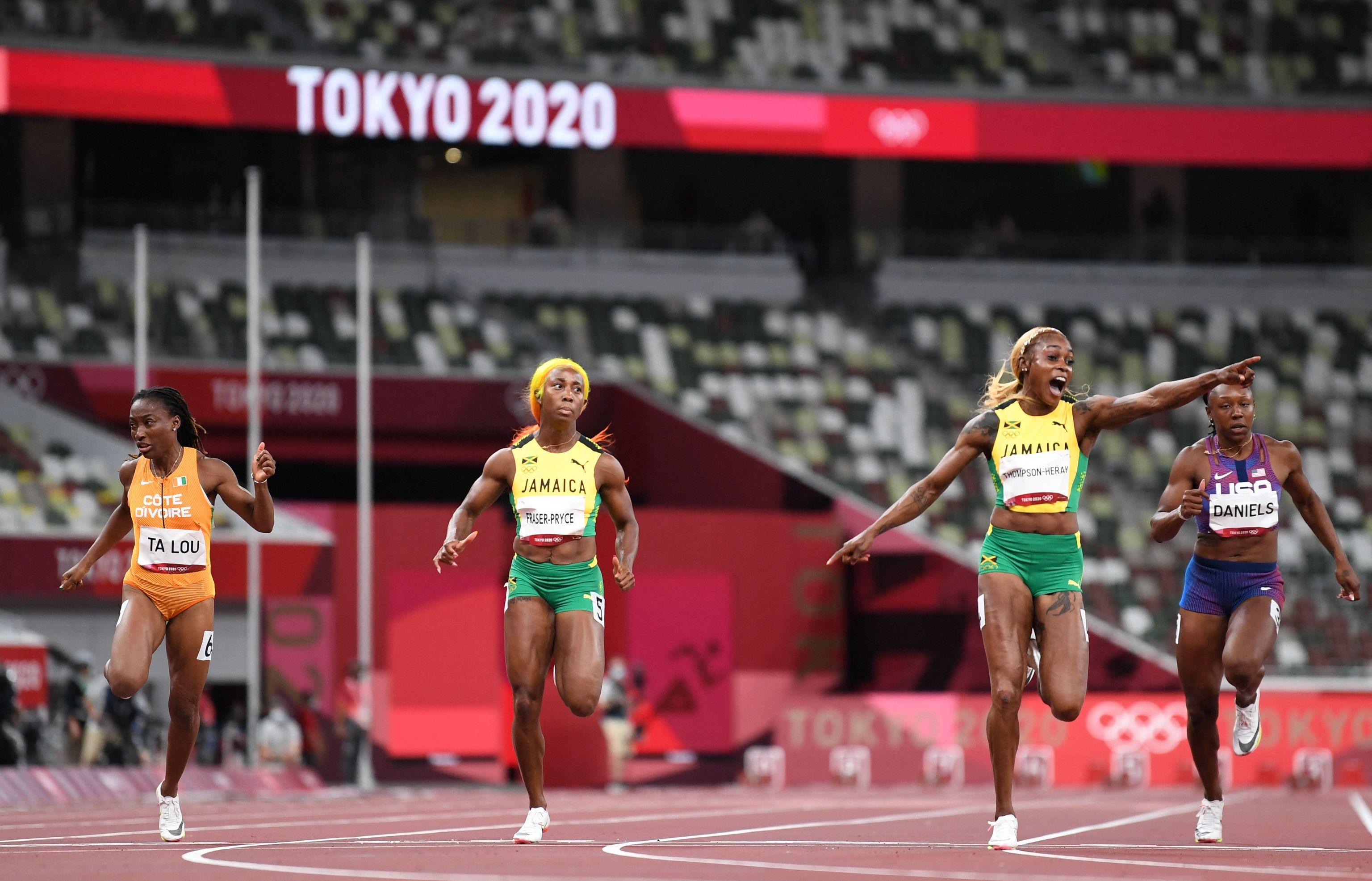 Thompson-Herah - atletismo - Juegos Olímpicos 2021 - Tokio 2020