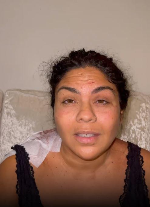 Saray Montoya habla de su agresión