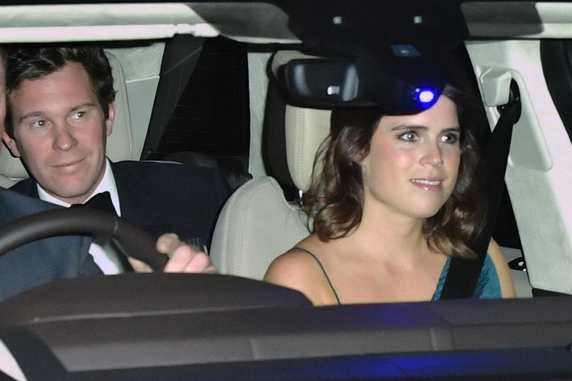 Jack Brooksbank y la princesa Eugenia.