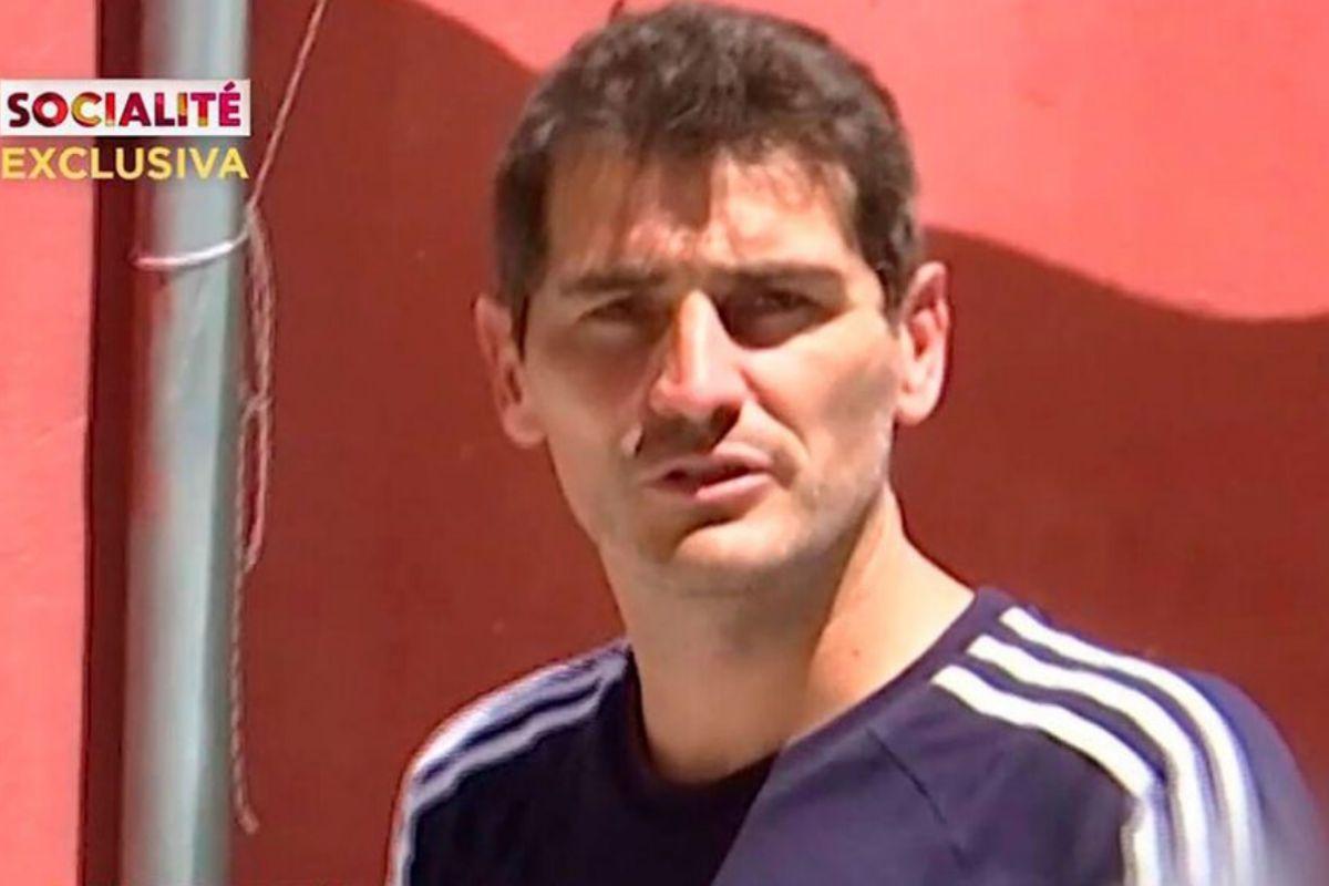 La respuesta irónica de Iker Casillas tras encararse a un equipo de Socialité