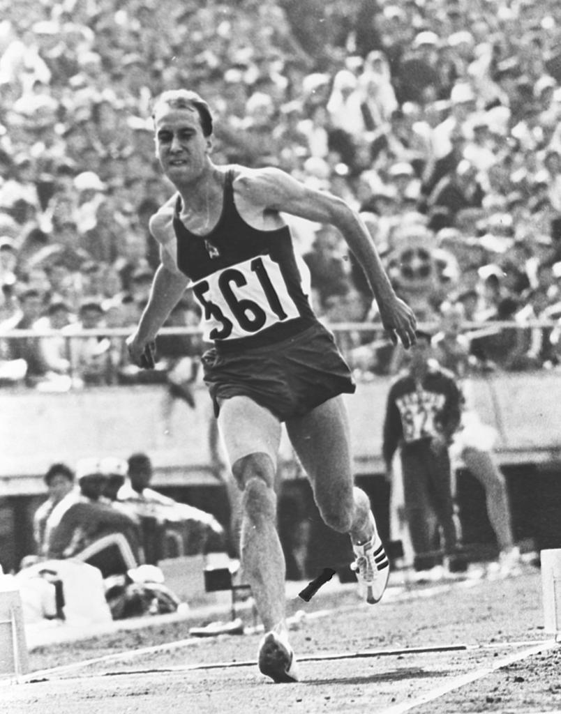 Luis Felipe Areta, en Tokio'64.