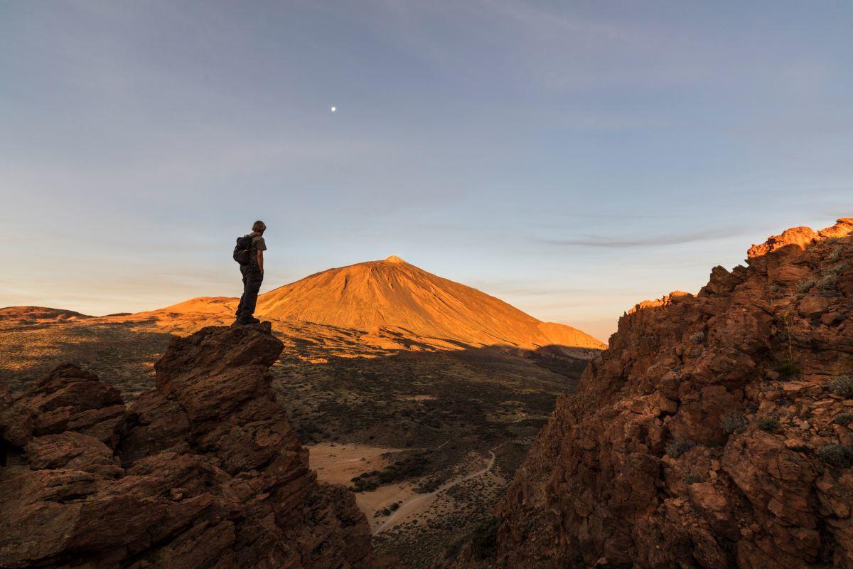 Vistas del Teide.