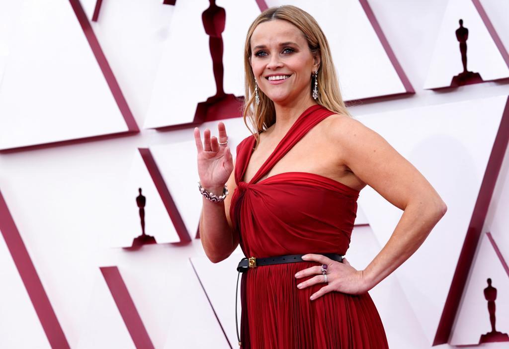 Reese Witherspoon en la pasada edición de los Oscar.