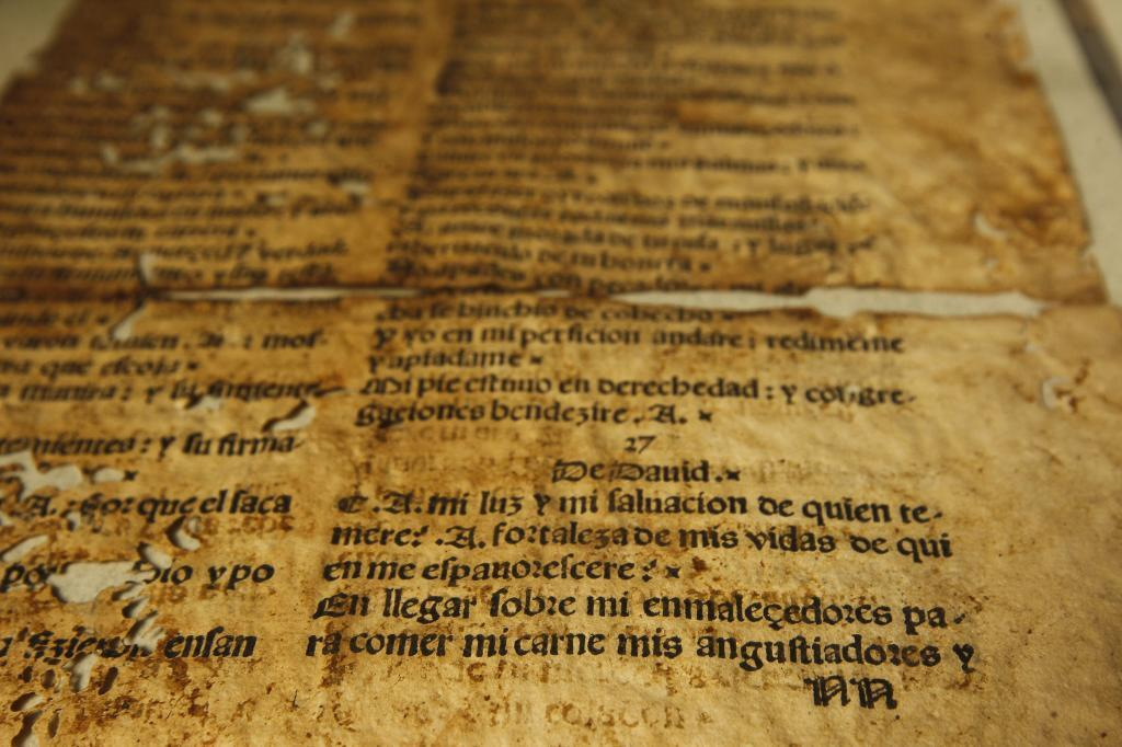 Edición de la Biblia en ladino publicada por los sefardíes.