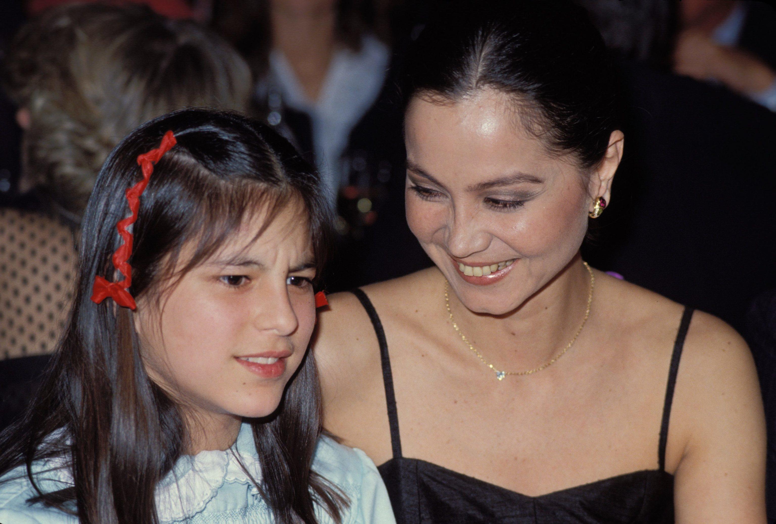 Chábeli Iglesias y su madre, Isabel Preysler.