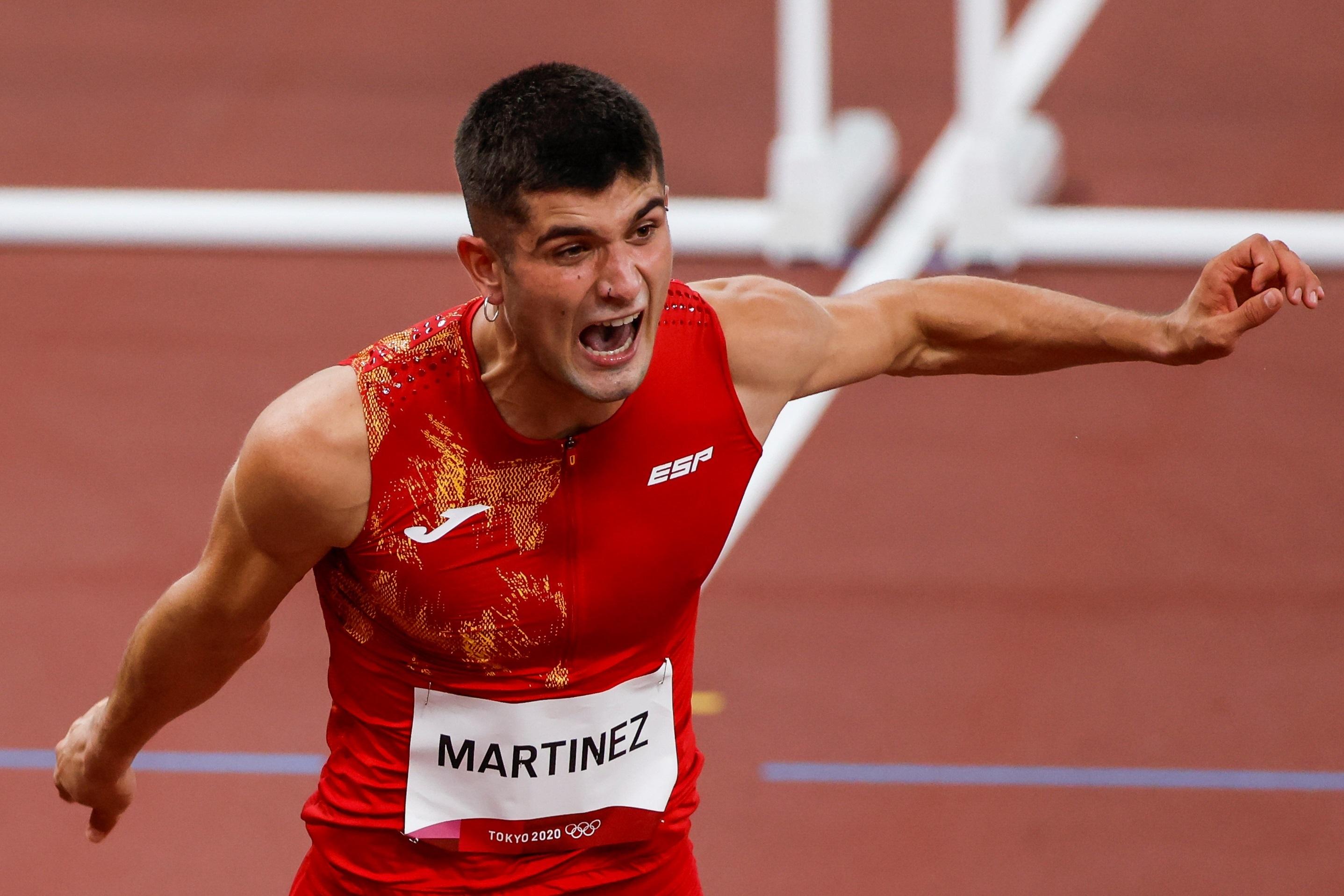 Asier Martínez compite en Tokio en los 11m vallas