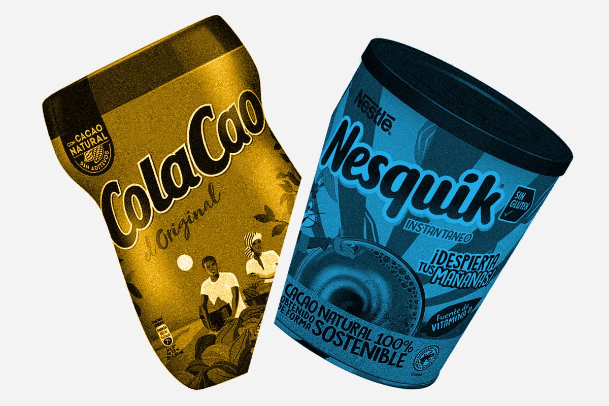El grumo es España: por qué el 60% prefiere el Cola Cao al Nesquik
