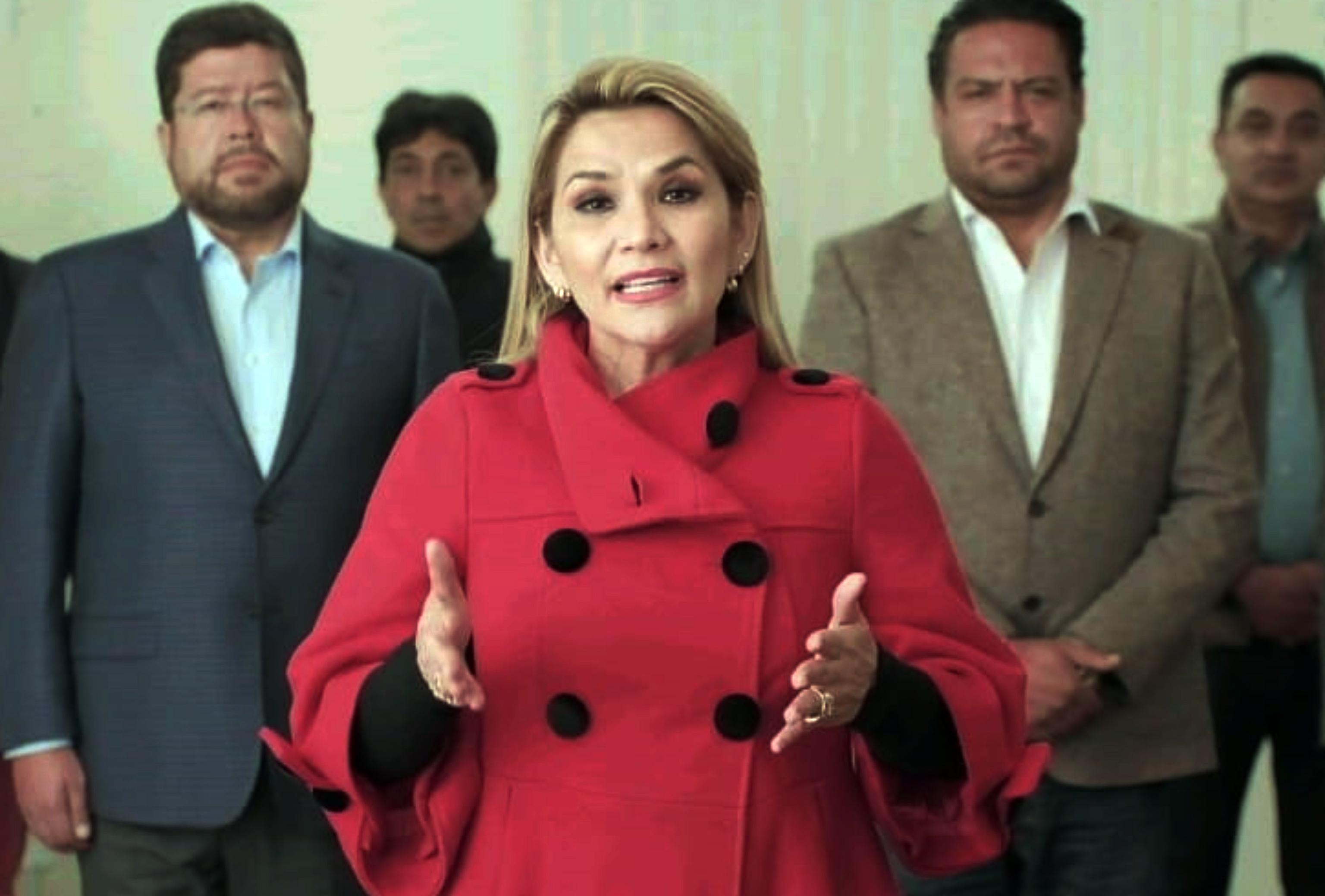 Jeanine Añez, en una imagen de septiembre de 2020.