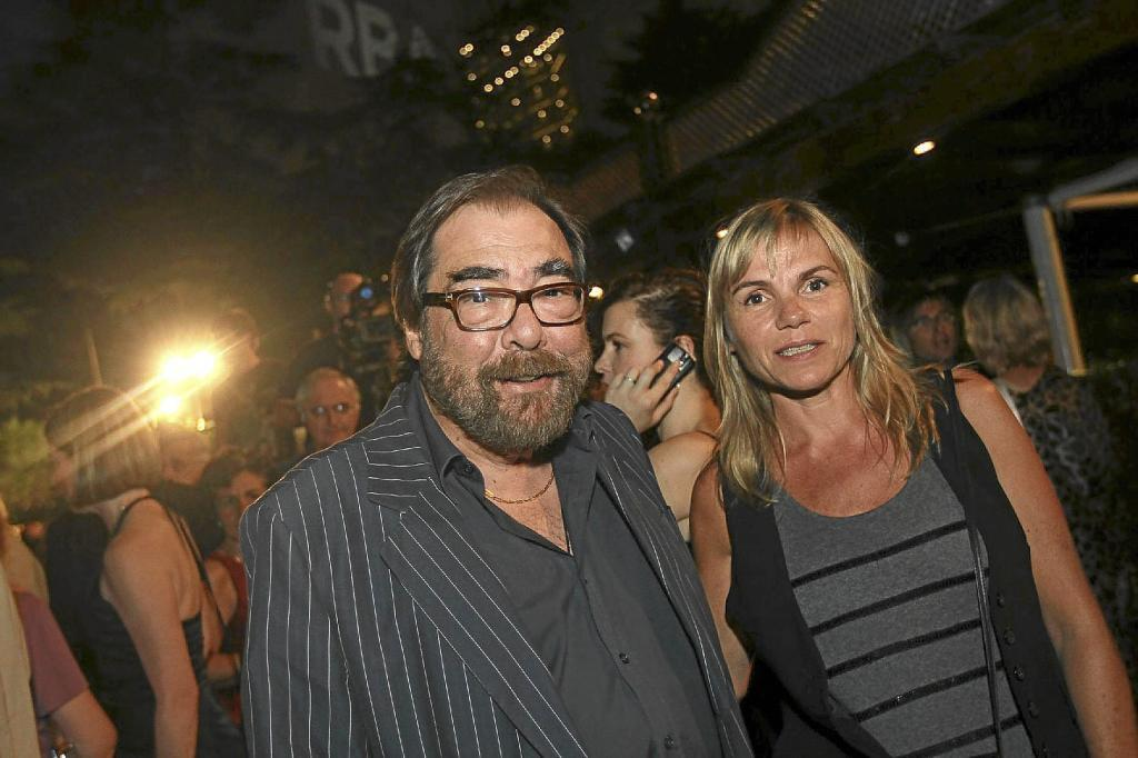 Con su mujer, Olga, en 2011.