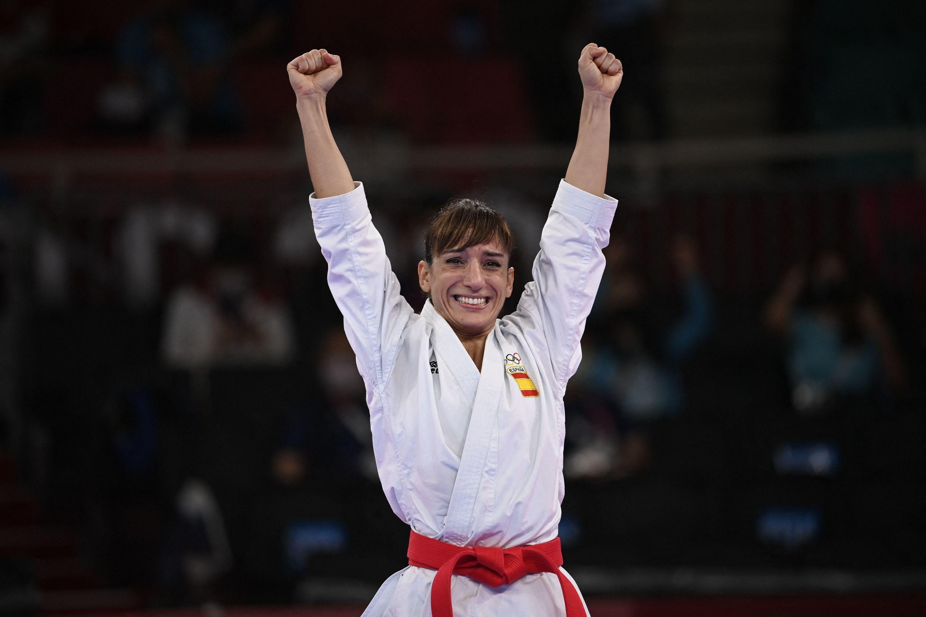 Sandra Sánchez - karate - Juegos Olímpicos 2021 - Tokio 2020