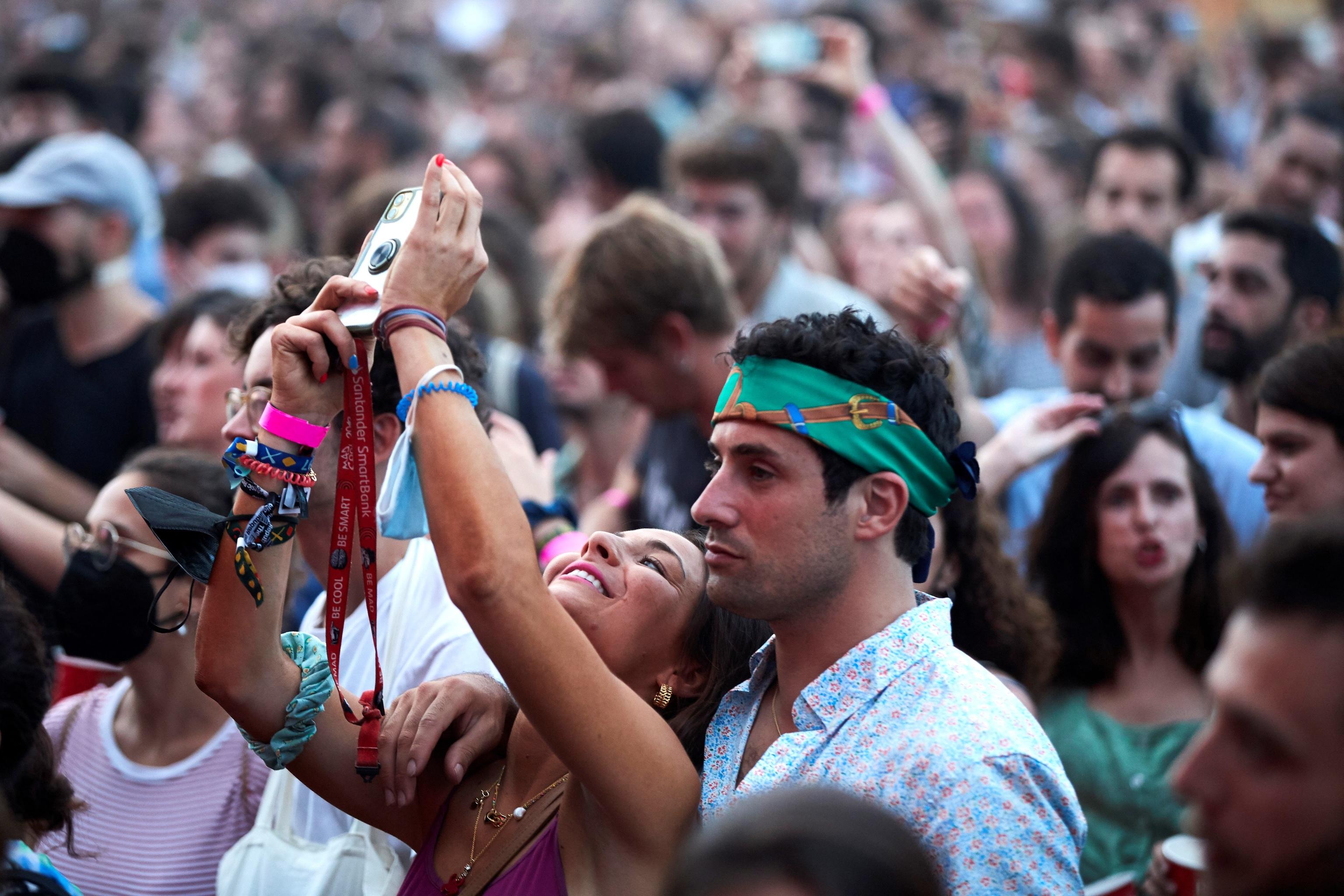 Público en el Festival Vida.