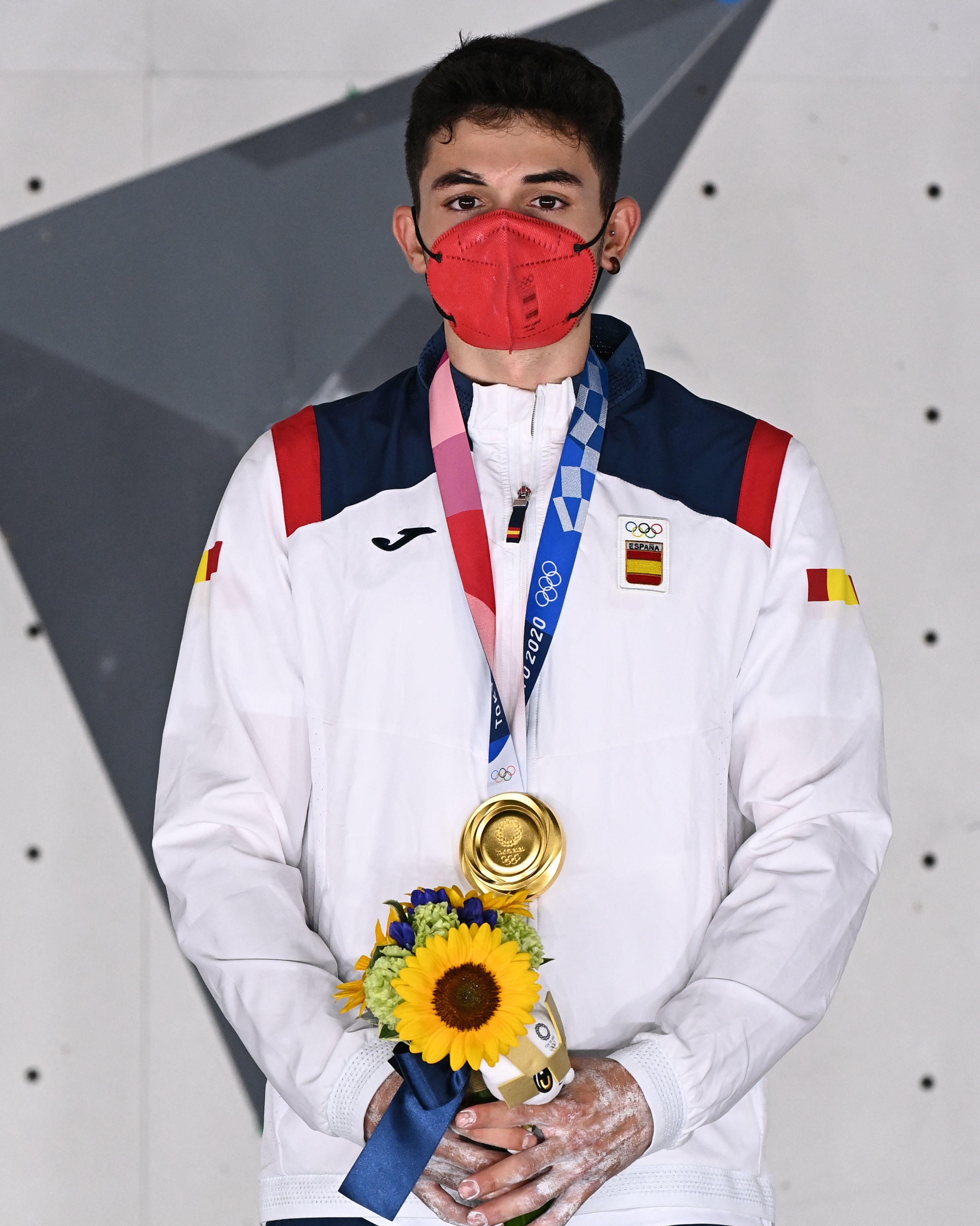 Alberto Ginés - escalada - Juegos Olímpicos 2021 - Tokio 2020