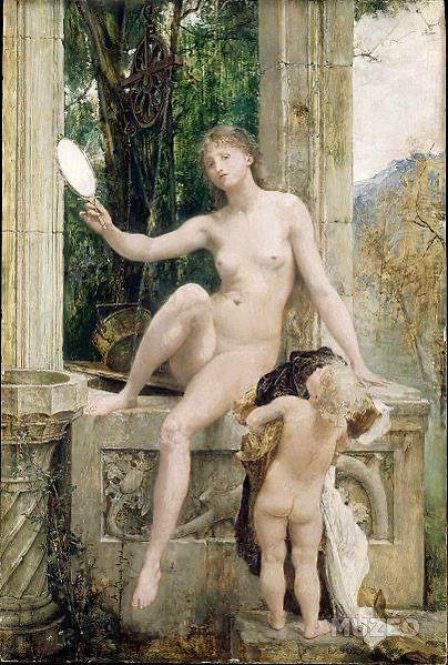 La Vérité, por Paul Baudry (circa 1879)