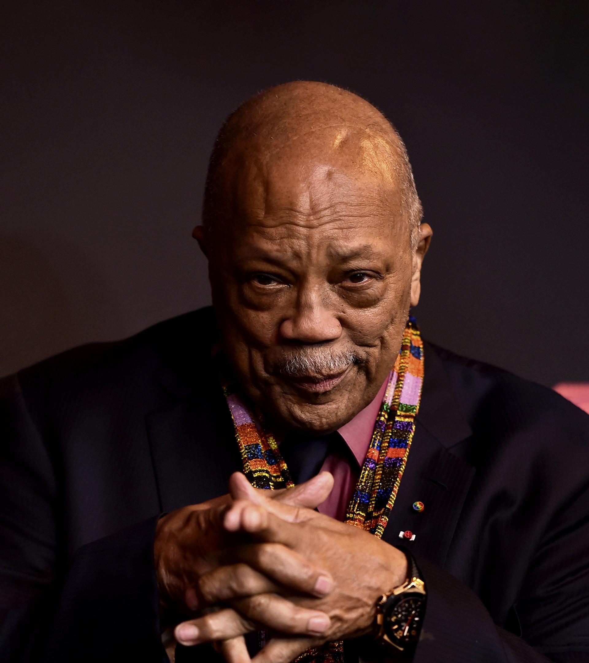 """Quincy Jones: """"Dios nos dio dos oídos y una boca para que escuchásemos el doble y hablásemos la mitad"""""""