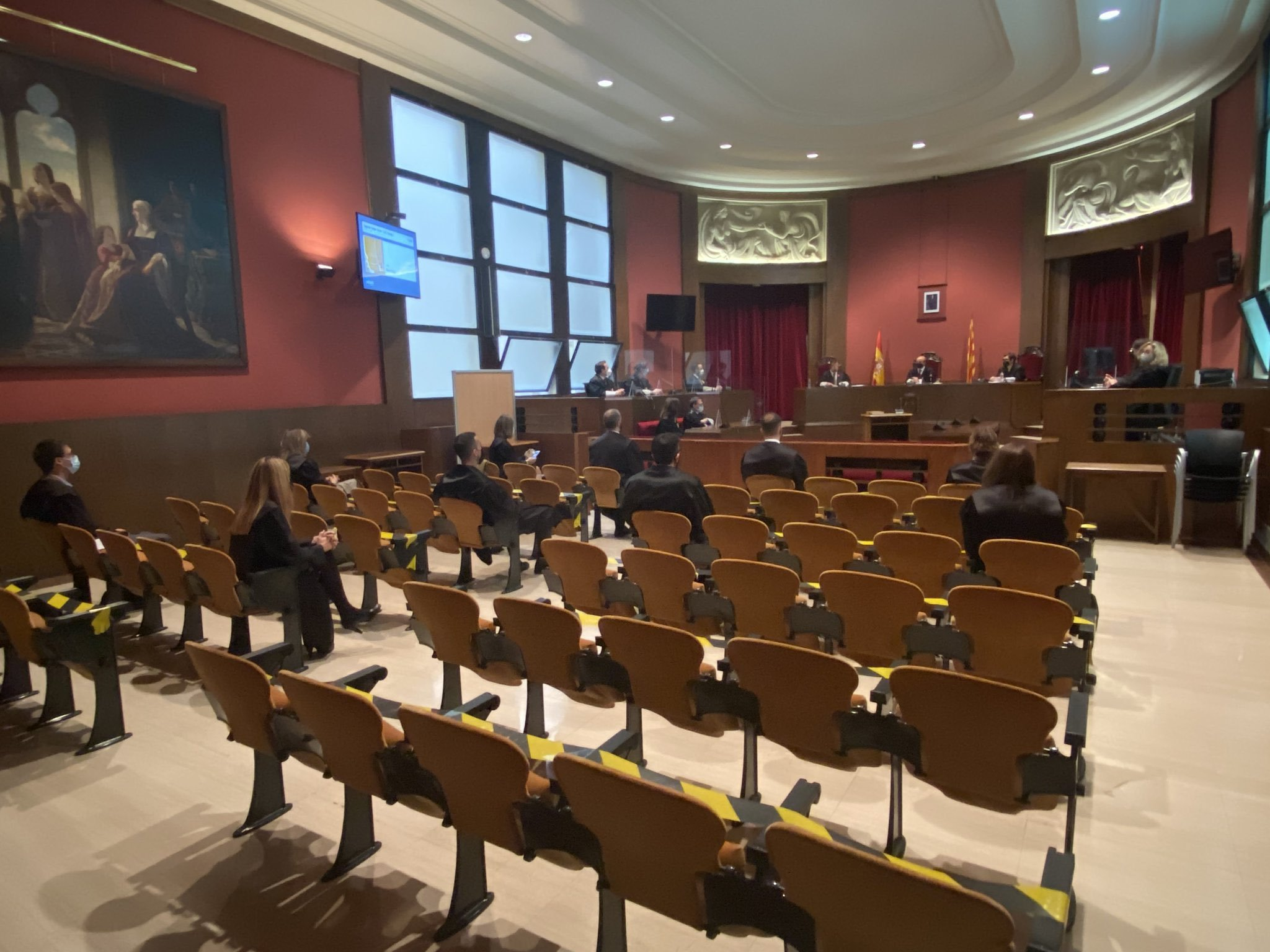 El pasado enero 12 nuevos letrados juraron o prometieron su cargo ante el presidente del TSJC Jesús M. Barrientos y el secretario de gobierno Joaquim Martínez