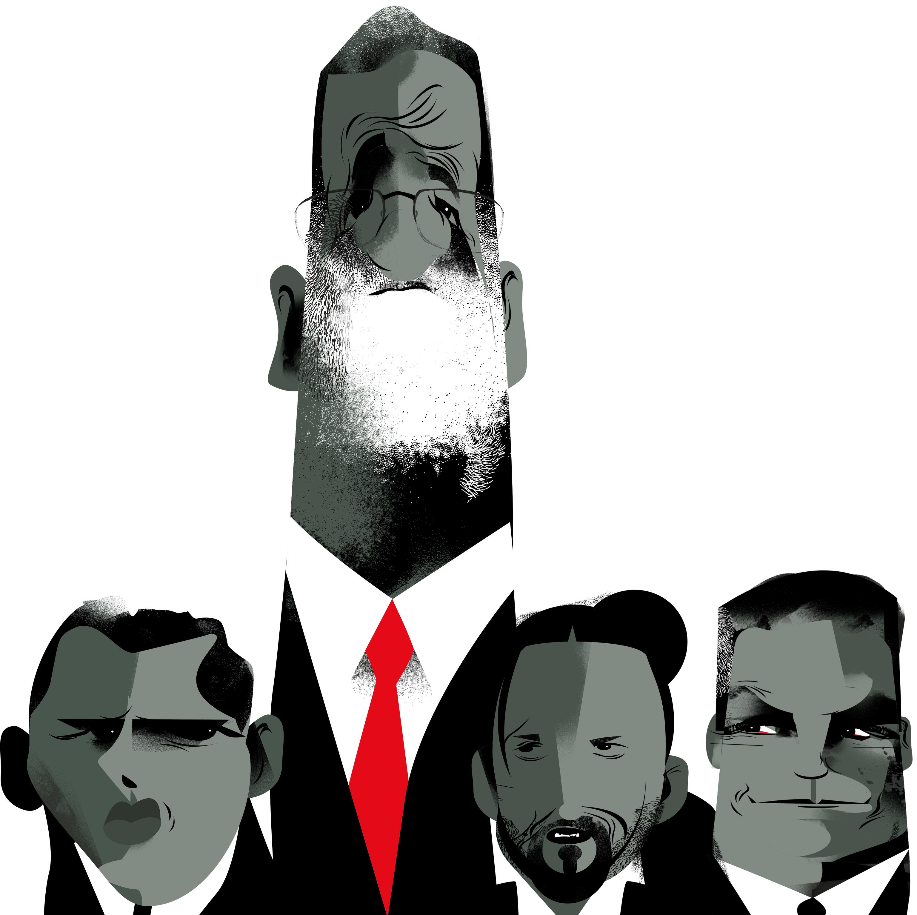 Mariano Rajoy, el presidente feliz que no hace política